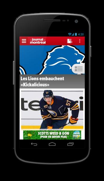 Journal de Montréal - 1 / 7