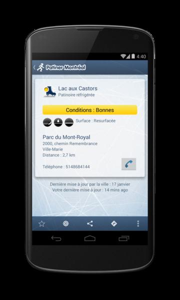 Patiner Montréal pour Android - 4 / 9