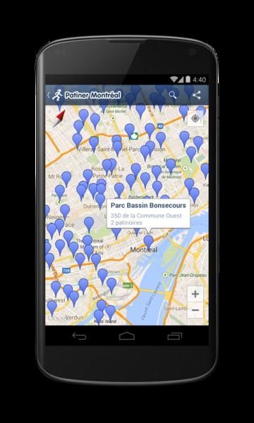 Patiner Montréal pour Android - 5 / 9