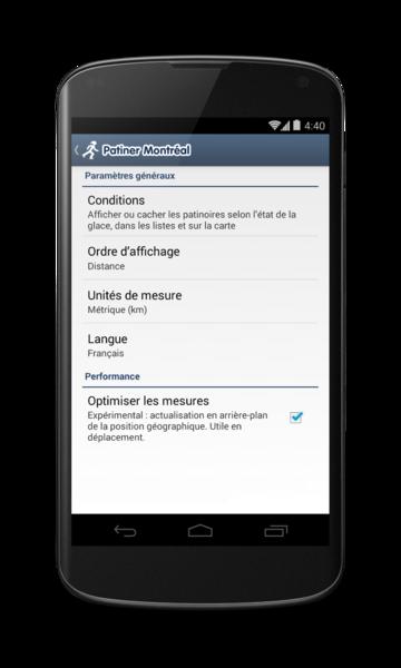 Patiner Montréal pour Android - 6 / 9