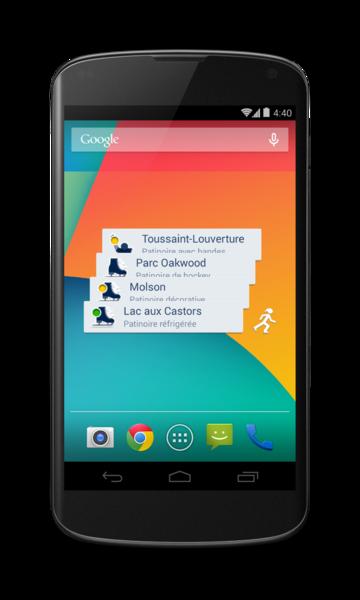 Patiner Montréal pour Android - 9 / 9